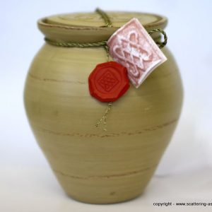 bio urn ashes