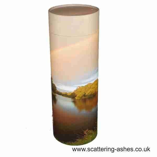 Rainbow Lake ashes Scatter Tube
