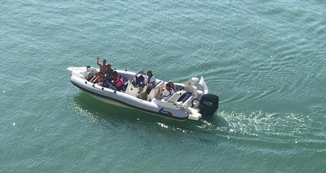 boats for scattering ashes at newhaven